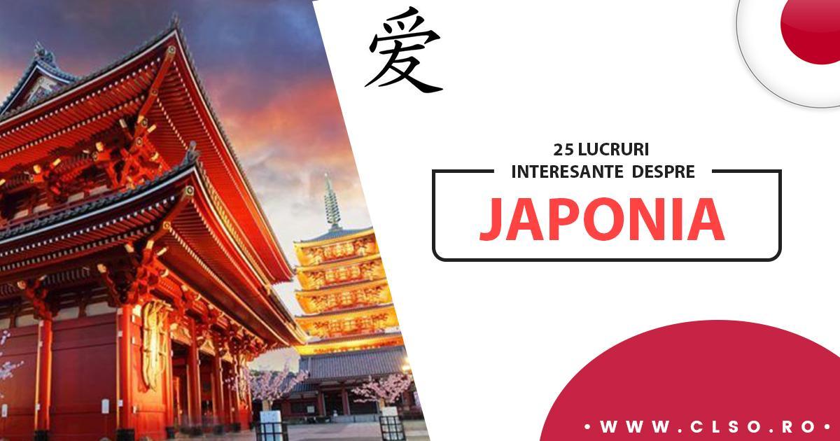 25 de lucruri interesante despre Japonia