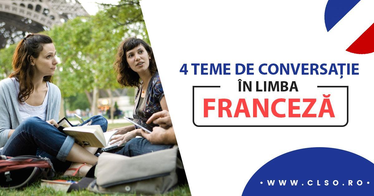 Nu știi despre ce să vorbești cu un francez? Iată 4 posibile argumente de abordat dacă ajungi în Franța!
