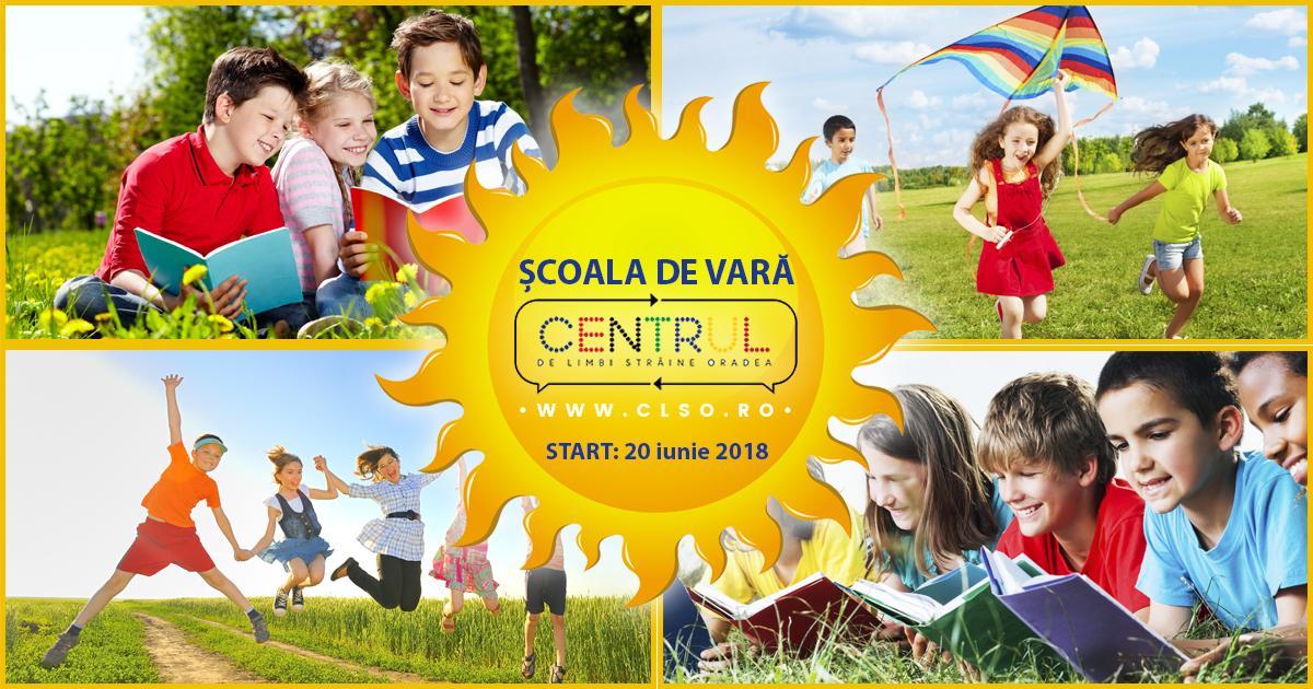 Engleză, germană, italiană și multe alte limbi străine la școala de vară CLSO!